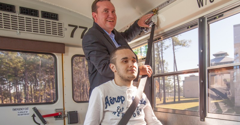 Wheelchair occupant restraints